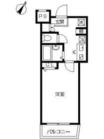 スカイコート練馬壱番館1階Fの間取り画像