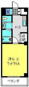 日吉A-Ⅳ3階Fの間取り画像