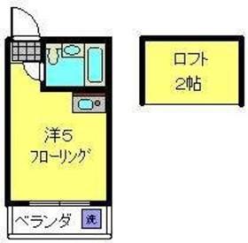 羽沢横浜国大駅 徒歩21分2階Fの間取り画像