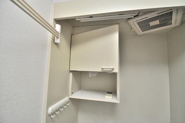 ジョイライフ永和 キッチン棚も付いていて食器収納も困りませんね。