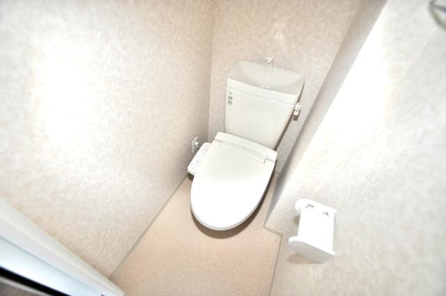 Luxe今里Ⅱ 清潔感のある爽やかなトイレ。誰もがリラックスできる空間です。