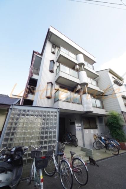 大阪市旭区中宮1丁目の賃貸マンションの外観