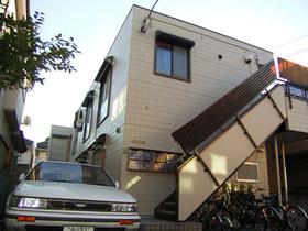 メゾンオギシマ住宅街に建ってます