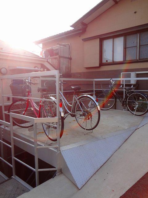 CASA FELICE HOSHIKAWA駐車場