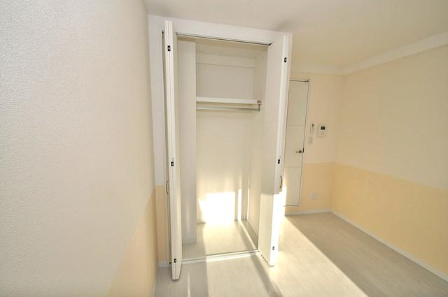 エグゼ大阪城東 もちろん収納スペースも確保。いたれりつくせりのお部屋です。