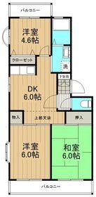 グリーンヒル湘南Ⅱ1階Fの間取り画像