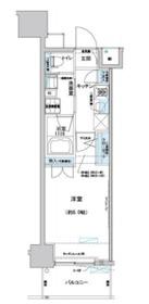 プレディアンスフォート磯子マキシヴ3階Fの間取り画像