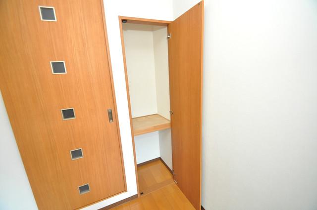 グランドール北巽 収納がたくさんあると、お部屋がすっきり片付きますね。