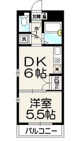ツインピーク渋谷4階Fの間取り画像