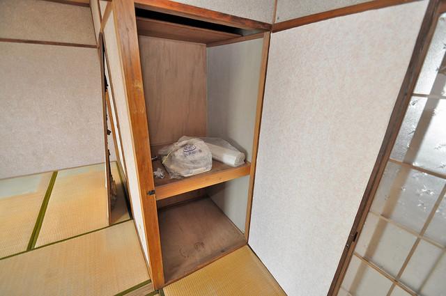 第二コーポ春日荘 もちろん収納スペースも確保。おかげでお部屋の中がスッキリ。