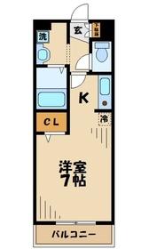 本厚木駅 徒歩18分3階Fの間取り画像