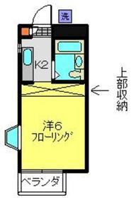 日吉駅 徒歩12分1階Fの間取り画像