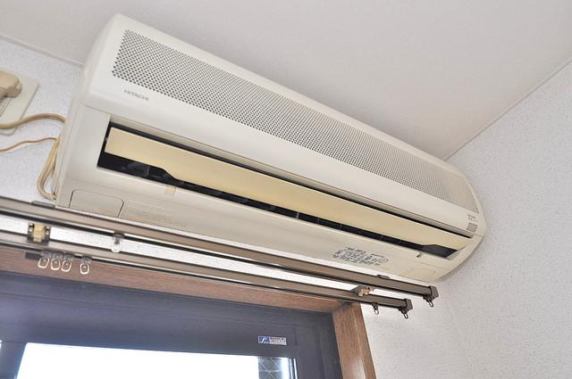 ヴィーブルアサダ エアコンが最初からついているなんて、本当にうれしい限りです。