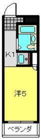 ヨコハマベイストロベリーインターナショナル2階Fの間取り画像