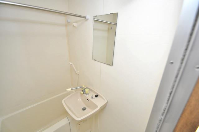 イマザキマンションエヌワン 可愛いいサイズの洗面台ですが、機能性はすごいんですよ。