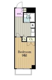 ライオンズマンション聖蹟桜ヶ丘第53階Fの間取り画像