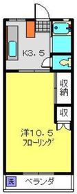 昭栄ホームズ2階Fの間取り画像