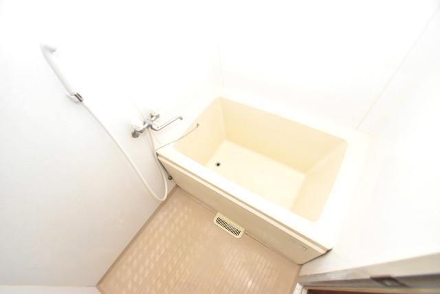 三国プラザ ちょうどいいサイズのお風呂です。お掃除も楽にできますよ。