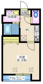 メゾンY・S2階Fの間取り画像