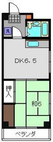 鹿島田駅 徒歩14分3階Fの間取り画像