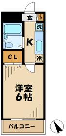 ハイムロアール3階Fの間取り画像