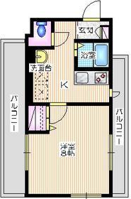ラフィネ横浜3階Fの間取り画像