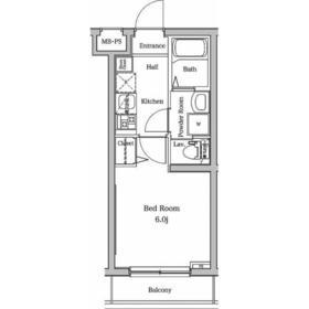 ラフィスタ宮崎台(ラフィスタミヤザキダイ)4階Fの間取り画像