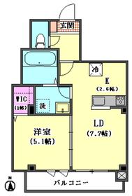(仮)ラ ルーナ サンアイ 302号室