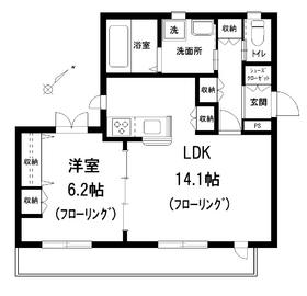 Maison M3階Fの間取り画像