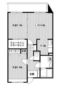 洋光台駅 徒歩12分4階Fの間取り画像