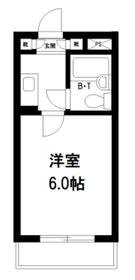 豊島園フラワーハイツ2階Fの間取り画像