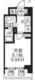 仮称)新横浜マンション8階Fの間取り画像