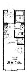 ハーミットクラブハウスフォレストヒルズ2階Fの間取り画像