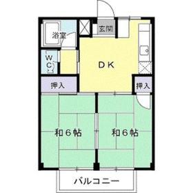 倉見駅 徒歩3分2階Fの間取り画像