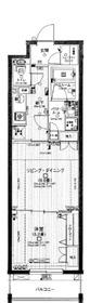 日神デュオステージ関内大通り公園2階Fの間取り画像