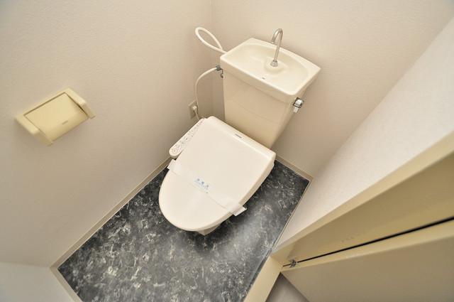 メゾンイサム スタンダードなトイレは清潔感があって、リラックス出来ます。