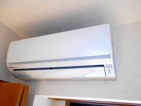 エアコンは全居室に設置済みです(合計3台)