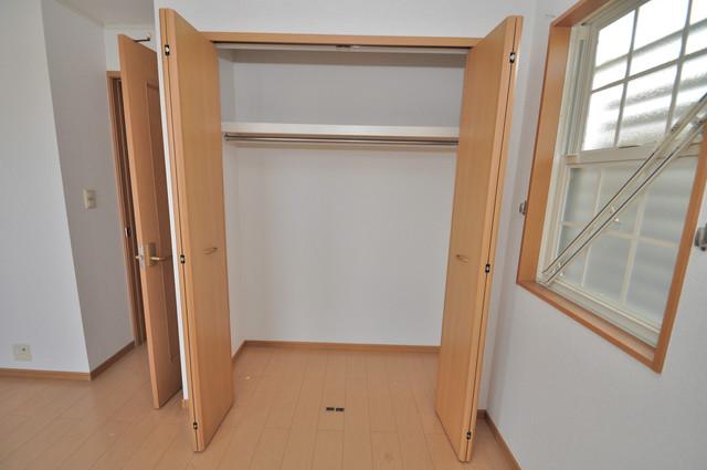 フォンテーヌ もちろん収納スペースも確保。いたれりつくせりのお部屋です。