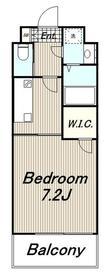 メゾン大塚3階Fの間取り画像