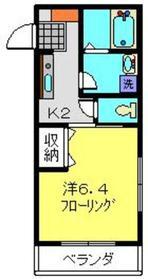 パルコートU1階Fの間取り画像