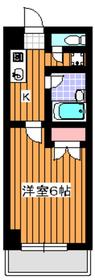 地下鉄赤塚駅 徒歩1分4階Fの間取り画像
