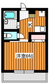 K・トキ・ハイム1階Fの間取り画像