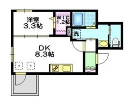 グレートへーベル3階Fの間取り画像