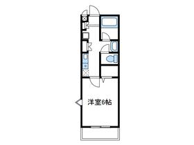 本厚木駅 バス12分「松蓮寺」徒歩3分1階Fの間取り画像