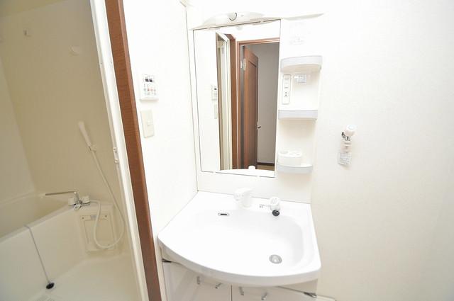 フジパレス フォンターナⅡ番館 人気の独立洗面所はゆったりと余裕のある広さです。