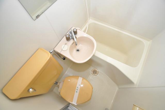 アルハウス諏訪 シャワー一つで水回りが掃除できて楽チンです