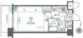 フェニックス新川崎3階Fの間取り画像