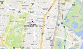 大門駅 徒歩5分案内図