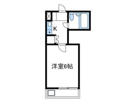 ベルトピア小田急相模原Ⅲ1階Fの間取り画像