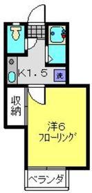 三ッ沢上町駅 徒歩15分1階Fの間取り画像